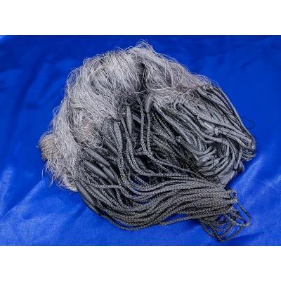 Сеть рыболовная финка нитка капрон 30 м трехстенная ячея от 30 до 70 BAZIS