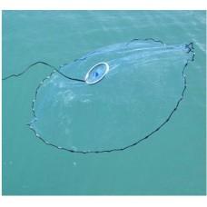 Рыболовная сеть парашют Кастинговая